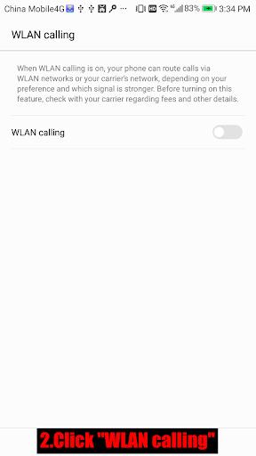 Wifi Calling 1.0.4 screenshots 2