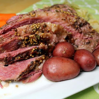 Electric Pressure Cooker Corned Beef & Vegetables.