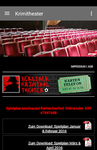 Berliner Kriminal Theater- screenshot thumbnail