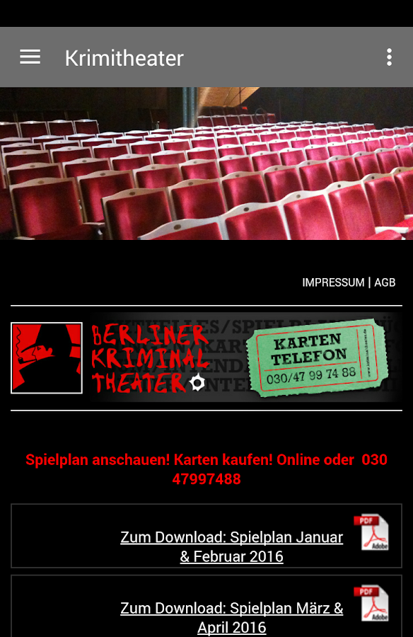 Berliner Kriminal Theater- screenshot