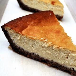 GF Pecan Crusted Cheesecake (Refined Sugar Free).