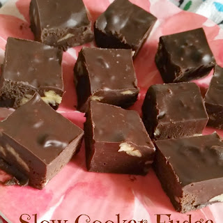 SLOW COOKER FUDGE