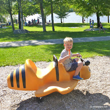Photo: Playing at the playground at Boulder Beach State Park