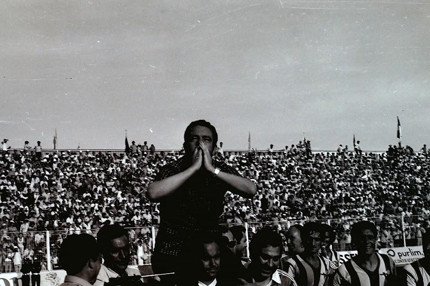 la famosa imagen de Maguregui, en blanco y negro.
