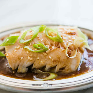 Pan Simmered Pacific Black Cod.