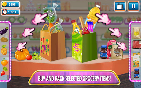 Game Supermarket Shopping Cash Register Cashier Games APK for Windows Phone