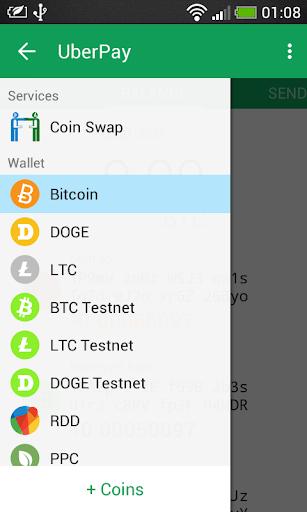 UberPay Multicoin Wallet