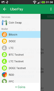 UberPay Bitcoin Wallet- screenshot thumbnail