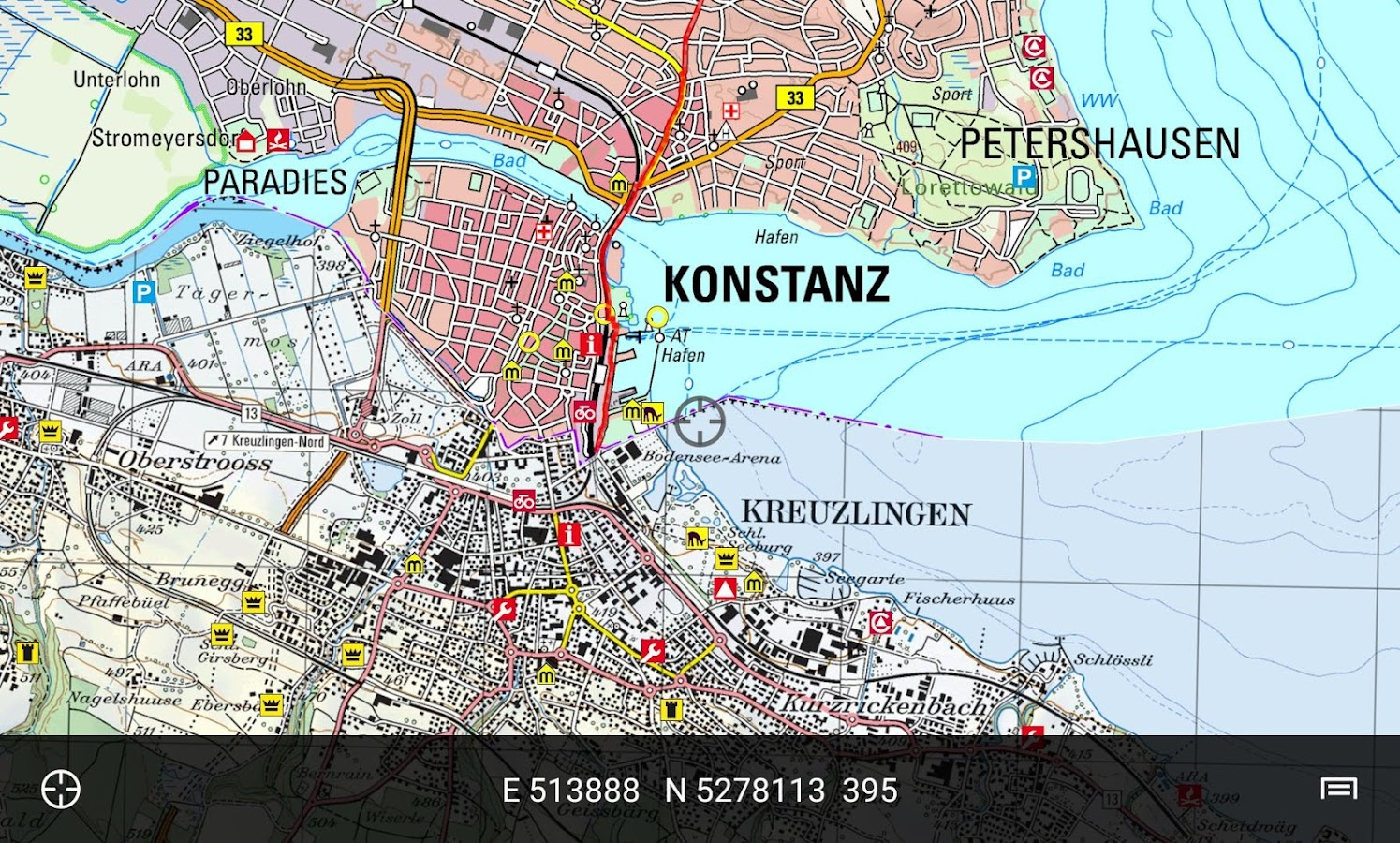 BW Map Mobile Android Apps On Google Play - Germany map konstanz