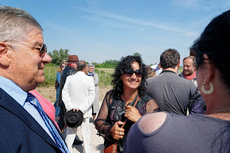 Photo: Sylvie Debart, et à gauche mon Ami Diégo, Gitan de Marseille...