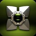 Next Launcher Theme Triada 3D icon