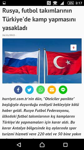 android Türkiye Haber Screenshot 4