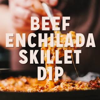 Beef Enchilada Skillet Dip