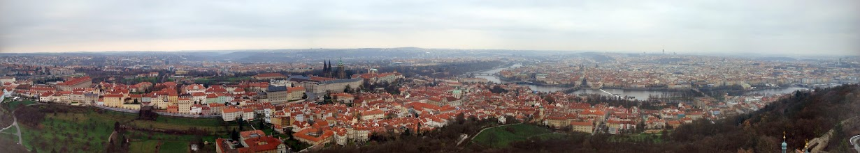 Photo: The view from the Petrin Tower