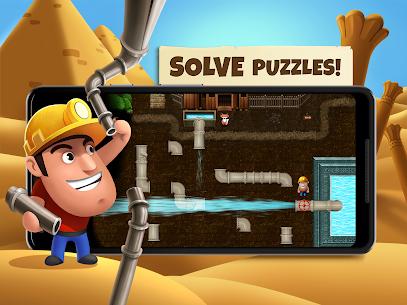 Diggy's Adventure: Escape this 2D Mine Maze Puzzle 1