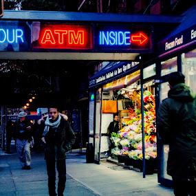 by Heather Hoppe - City,  Street & Park  Street Scenes
