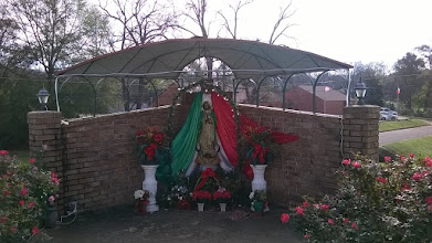 Photo: Grotto Virgin of Guadalupe San Augustine TX