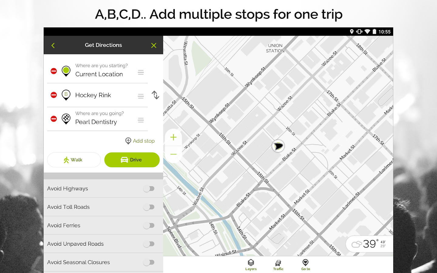 MapQuest GPS Navigation  Maps Android Apps On Google Play - Mapquest midwest usa