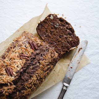 German Chocolate Chip Banana Bread