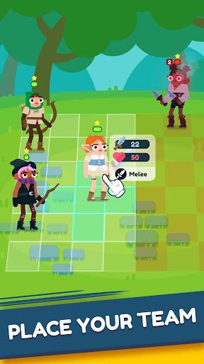 Code Triche Heroes Battle: Auto-battler RPG apk mod screenshots 2
