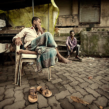 Photo: Back from a week in India! Luckily I managed to squeeze in a few photo outings from just before daybreak to breakfast, before business obligations took over for the rest of the day. Found these two guys waiting for their first customers at a street market in Mumbai, India. www.michiel-delange.com #streetphotography  #streetphotographers  #mumbai  #india