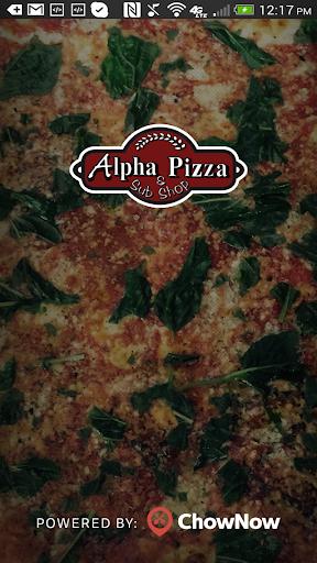 Alpha Pizza and Sub Shop