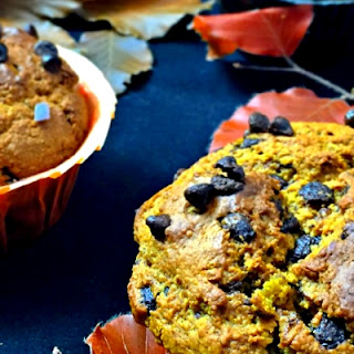 Chocolate Chip Oatmeal Pumpkin Muffins