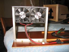 Photo: tout mignons ces ventilateurs , silencieux et ne consommant pratiquement rien.