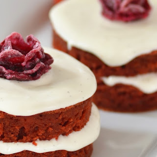 Beet Mini Cakes