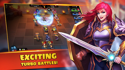 Auto Brawl Chess: Battle Royale apkpoly screenshots 9