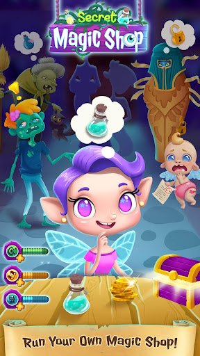 Secret Magic Shop - Fun Fantasy World for Kids  captures d'écran 5
