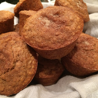 Hearty Gluten Free Cinnamon Oatmeal Muffins