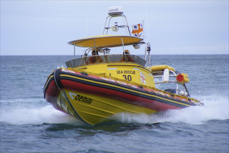 Three men had to be rescued on Saturday after their catamaran capsized off-shore of Port Alfred. File Photo.