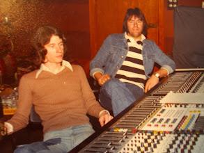 Photo: Recording at John Lennon's Studio ( Imagine )