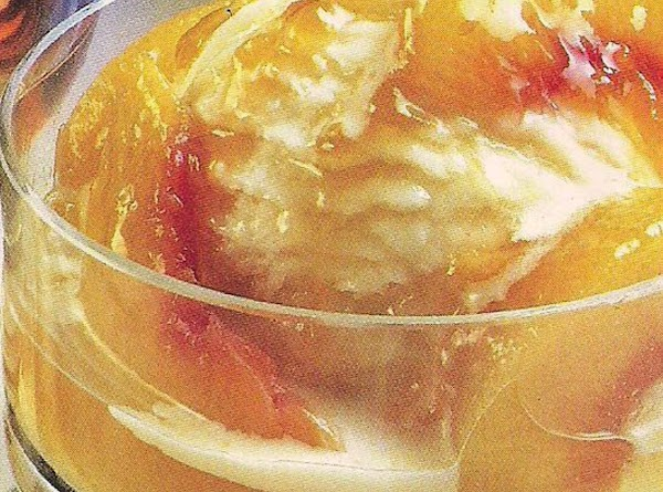 Peaches Flambe Recipe