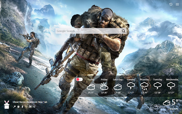 Ghost Recon Breakpoint New Tab, Wallpapers HD