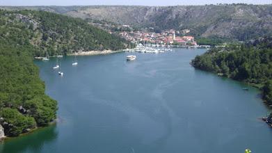 Photo: úton Makarska felé