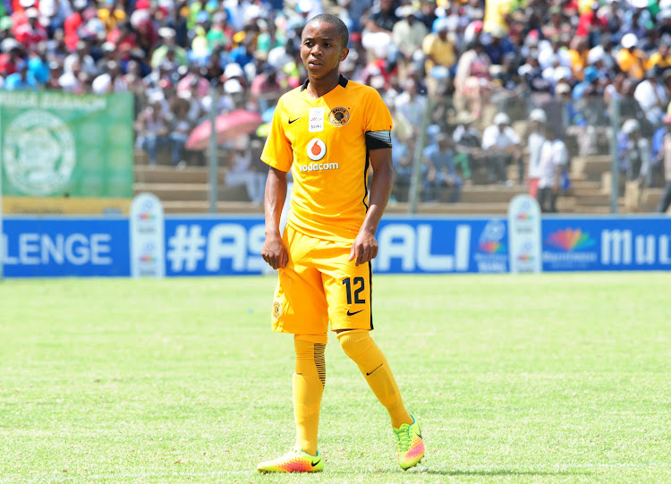 Nkosingiphile Ngcobo of Kaizer Chiefs during the MultiChoice Diski Challenge game between Kaizer Chiefs v Orlando Pirates at Sinaba Stadium on the 15 January 2017.