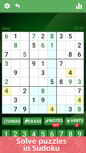 Sudoku Classic Puzzle - Casual Brain Game apktram screenshots 4