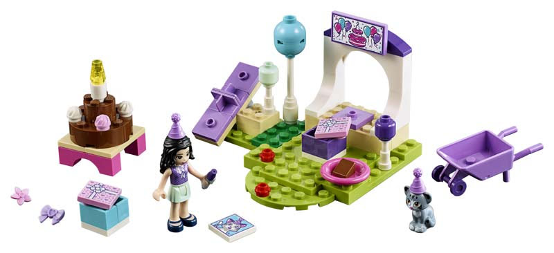 Contenido de Lego® 10748 Fiesta de Mascotas de Enma