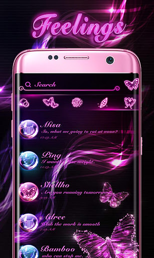 (FREE) GO SMS FEELINGS THEME Screenshot