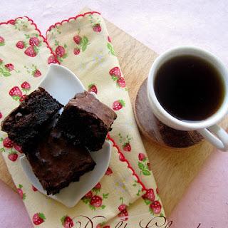 Double Chocolate Brownies.