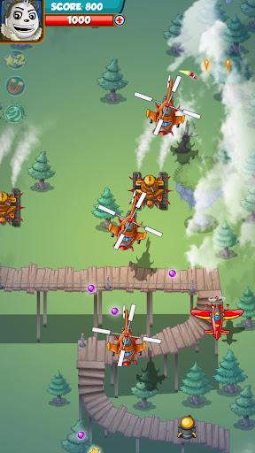 PANDA FIGHTER PLANE: AIR COMBAT 2020 GAMES android2mod screenshots 5