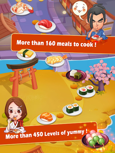 Sushi Master - Cooking story  captures d'u00e9cran 6