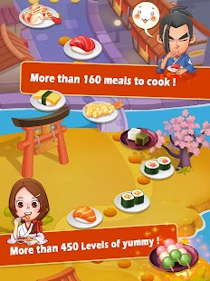 Sushi Master - Cooking story Screenshot