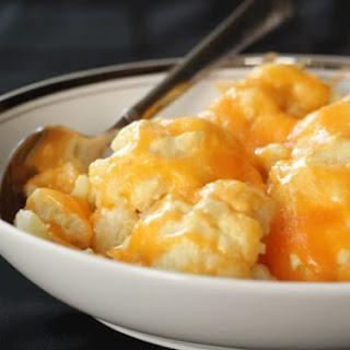 Cheesy Cauliflower Side Dish.