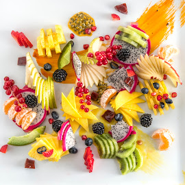 Fruit Paint by Nick Paschalis - Food & Drink Fruits & Vegetables ( fruits, fruit, food shots, fruits and vegetables, food photography, fruity,  )