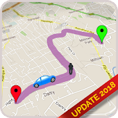 GPS Route Finder : Maps Navigation and Directions