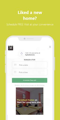 OYO LIFE: Rent Flats/PG, Furnished, Zero Brokerage 1.5.3 screenshots 6