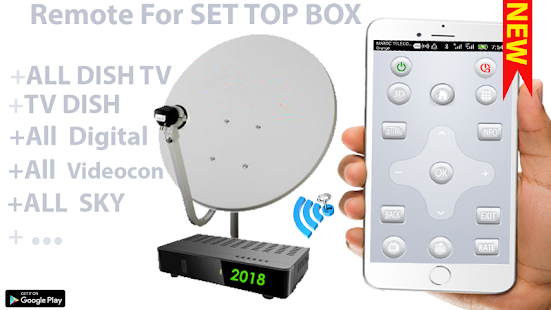 how to set up tv remote to android box